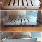 Pallet Dog Bed - Wooden Dog Bed - Pallet Cat Bed - Reclaimed Wood Bedding - Personalized Pet Bed - Custom Dog Bed - FREE SHIPPING