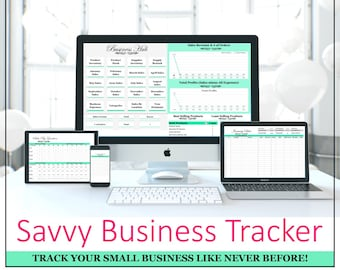 Business planner | productivity planner | daily planner | social media | business spreadsheet | inventory tracking | supplies system | 2018
