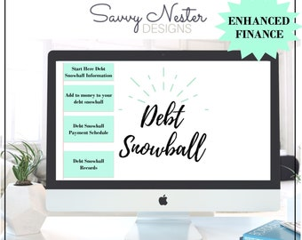 excel debt payoff | excel credit card | credit card spreadsheet | excel debt loan | monthly planner | Debt snowball excel