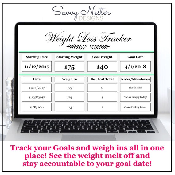 weight loss tracker   diet tracker journal   food diary   goal planner    diet planner   weightloss   fitness printable   daily counter