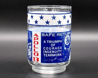 Libbey Glasses, Vintage Juice Glasses, Vintage Libbey Glass, Libbey Glass, Libbey Glassware, Libbey, Apollo 13, Apollo, Astronaut