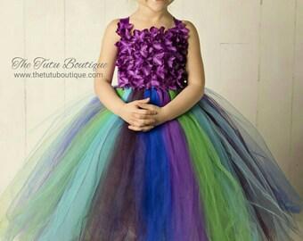 8e0702968c5 Peacock tutu dress