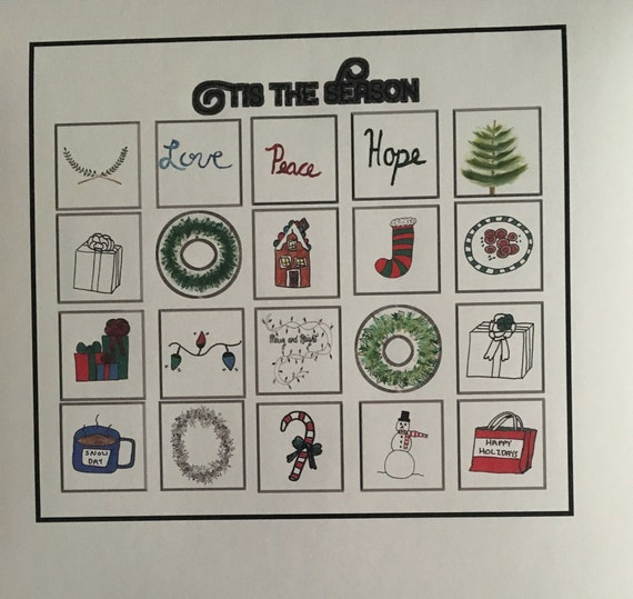 Ugly Sweater Stickers 24 sheets FX