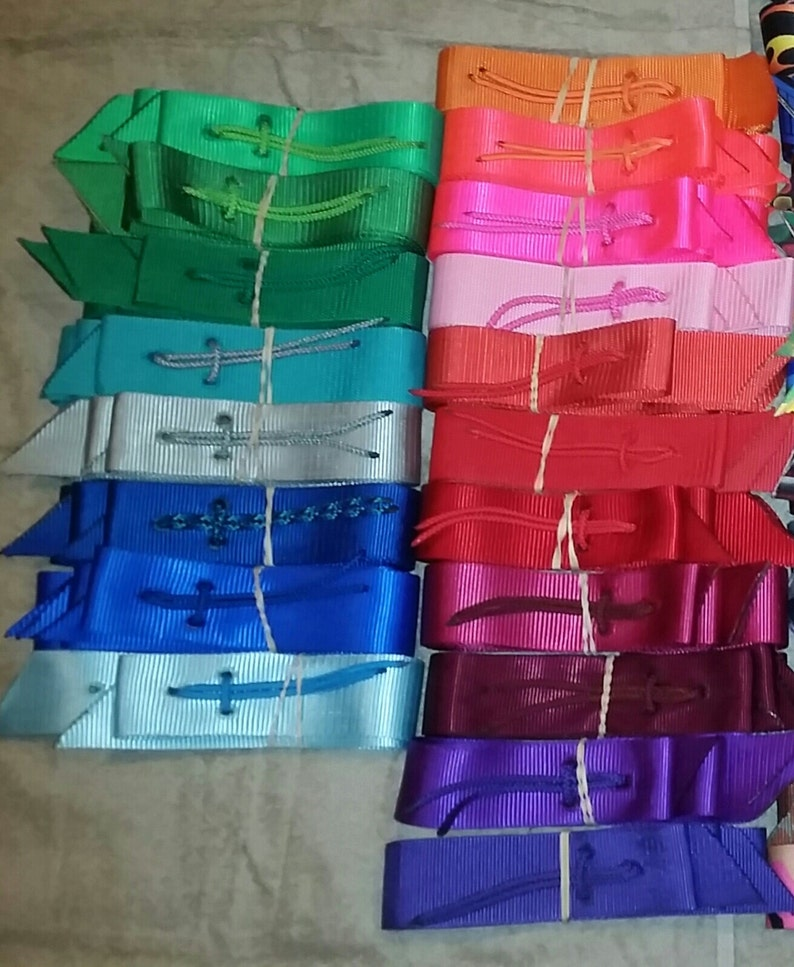 2f2dd954e Krazy Kolorz Solid Color Saddle Cinch Strap Sets includes