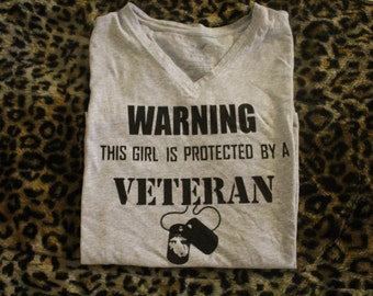 WARNING, Protected by a Veteran