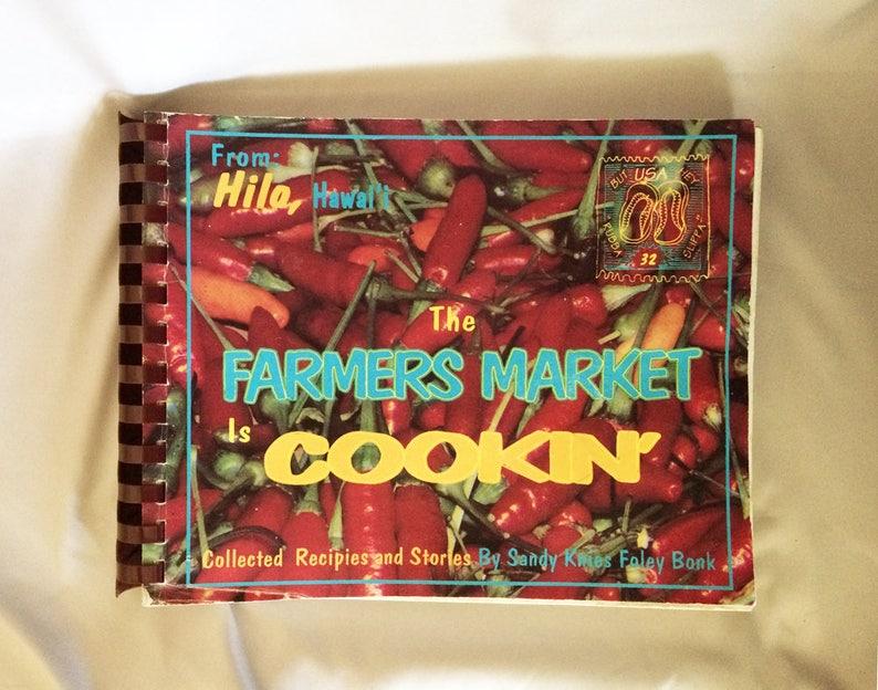 At Wednesday Farmers Market I Signed >> Vintage Hawaii Cookbook Hilo Hawaii The Farmers Market Is Etsy