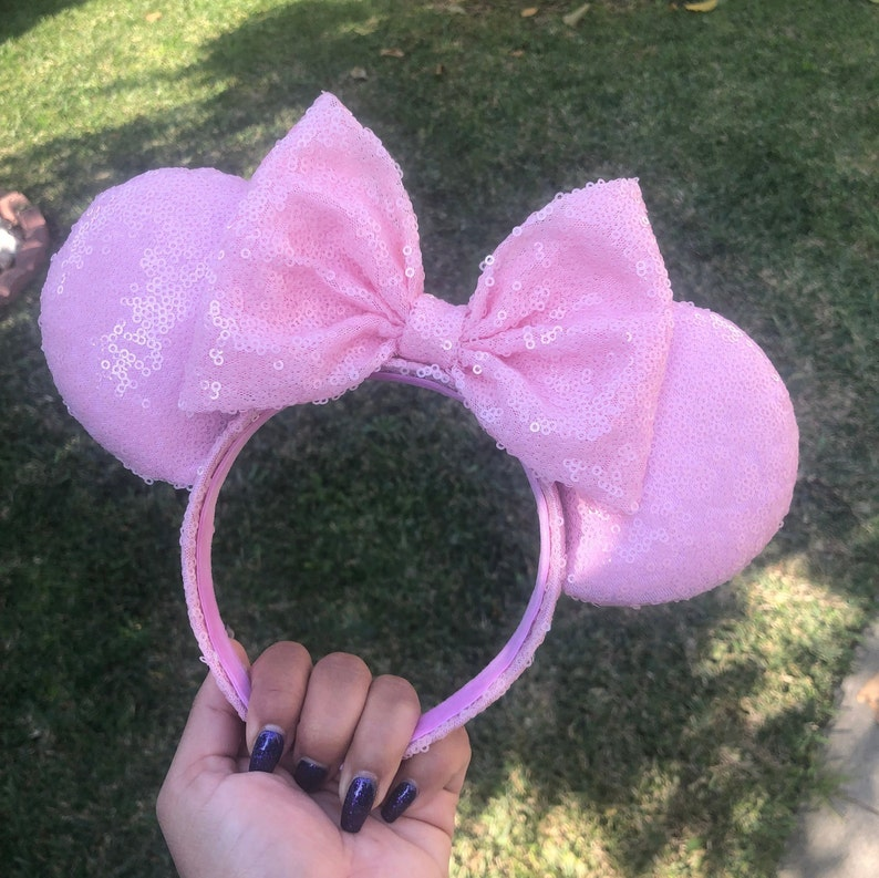Baby Pink Mouse Ears