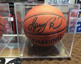 Larry Bird Autographed Basketball with COA