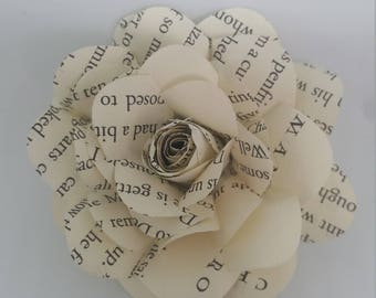Harry Potter Book Page Flower 1 bag of 6