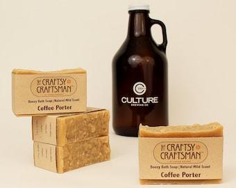 Coffee Porter Boozy Bath Soap