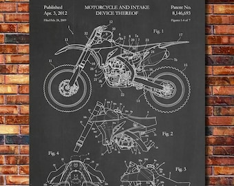Patent of Yamaha Dirt Bike 2012
