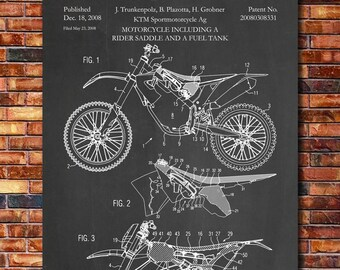 Patent of KTM Motorcycle 2008