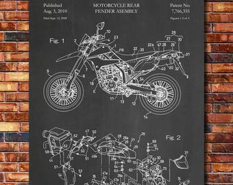 Patent of Kawasaki Dirt Bike 2010