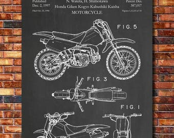 Patent of Honda Dirt Bike 1997