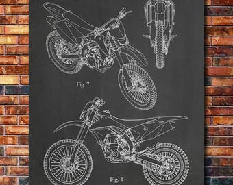 Patent of Kawasaki Dirt Bike 2009
