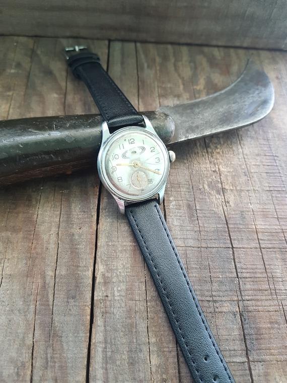 Jewelry & Watches Vintage Original Pobeda Fish Watch Ussr Pare