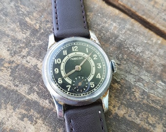 Vintage Soviet  watch, ZIM , VICTORY , Pobeda, lovely rare dial,  Vintage classic, russian watch, ussr