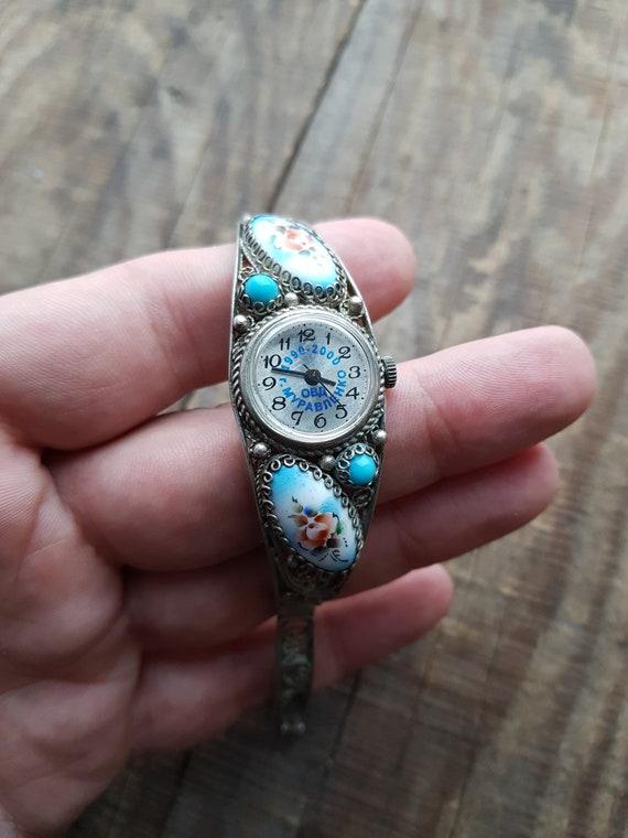 Vintage women watch Zarya Zaria Old wrist watch Wo