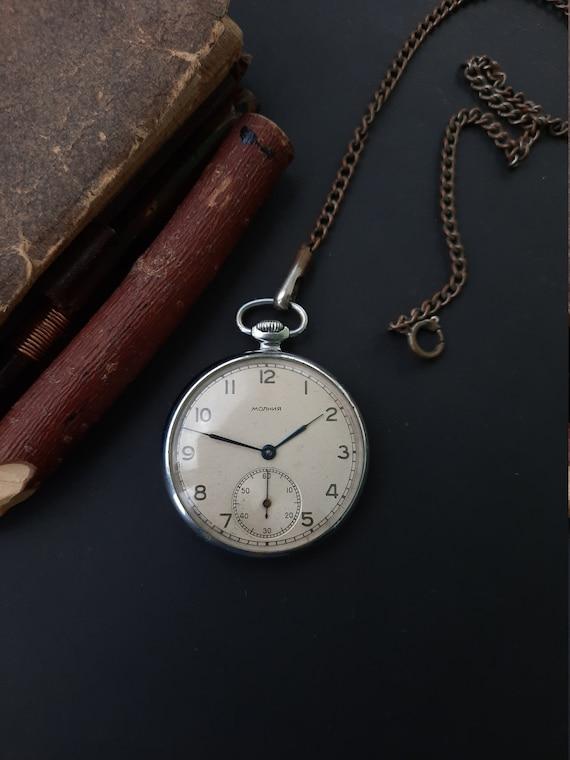 1Q 1957 Soviet watch Open Face Vintage watch Mecha