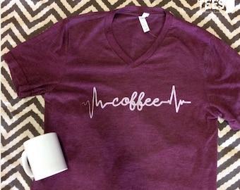 Coffee Lifeline Tee