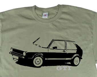 357d3282a Classic MK1 MKI Golf GTI T-Shirt Inspired BC96 Various Colours