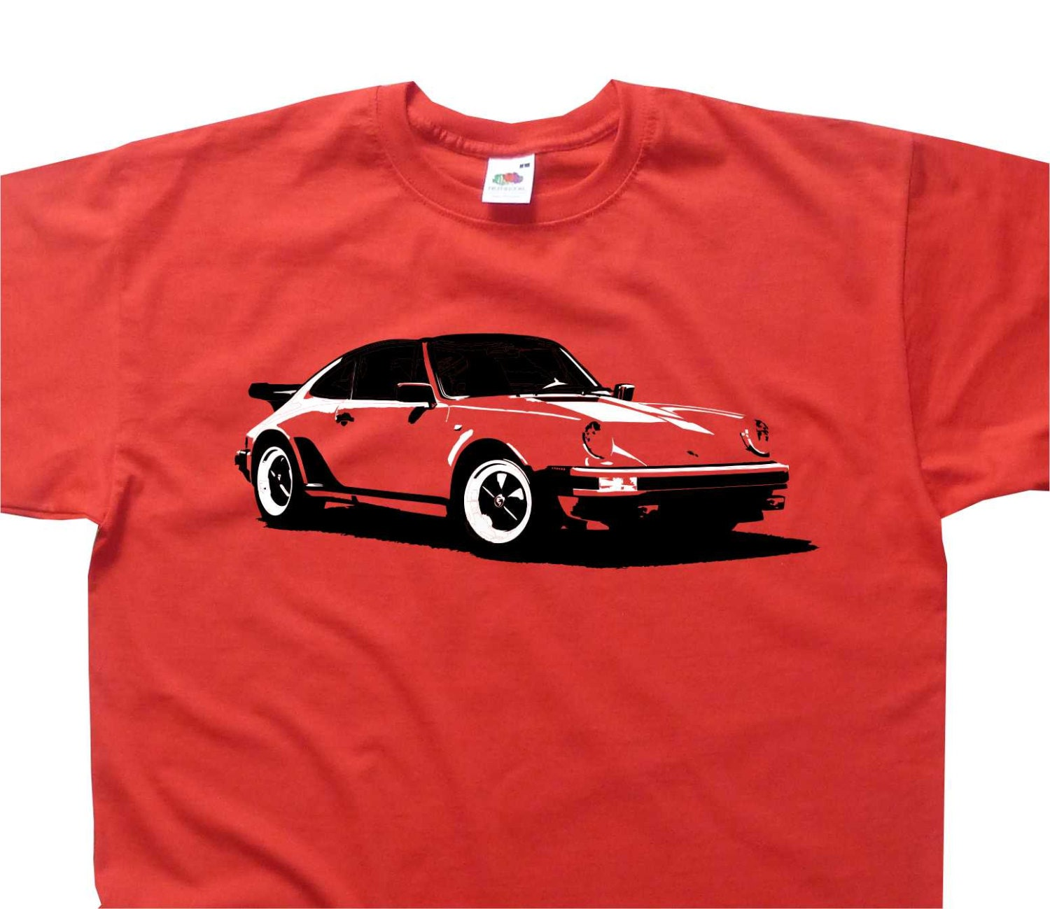 classic 911 turbo t shirt porsche inspired bc120 various. Black Bedroom Furniture Sets. Home Design Ideas