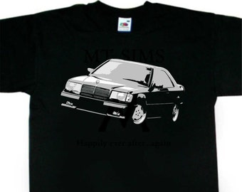 W124 CE Coupe T-Shirt Mercedes AMG Inspired BC235