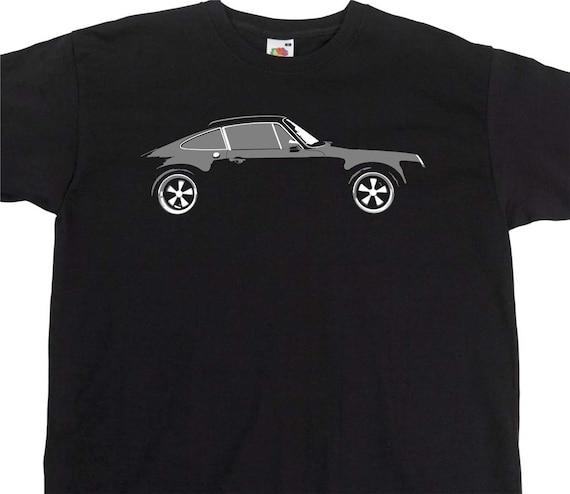Vintage porsche club Holland polo shirt racing Cars  XXL