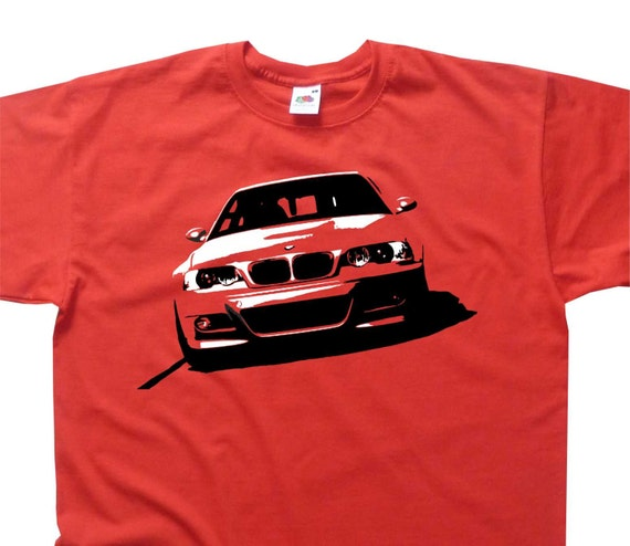 3 Series 3er E46 M3 Front T-Shirt BMW Inspired BC109 Various Colours
