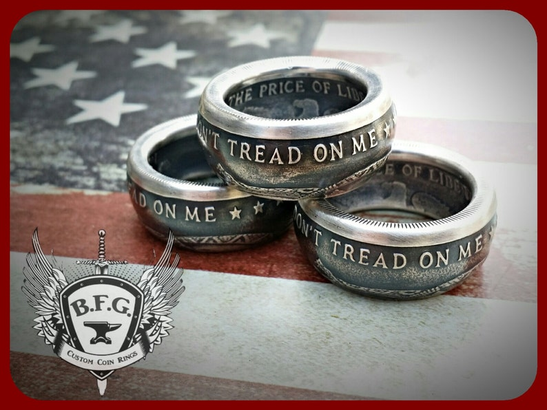 7e007d92630b Dont Tread On Me Price Of Liberty Handcrafted .999 Fine