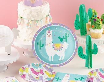 d690ca439a4f5 Llama Favor Bag Llama Party Supplies Llama Birthday Llama | Etsy