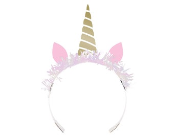 Unicorn Tiara Party Favors  - Unicorn Favors, Unicorn Party Favors, Unicorn Party Supplies, Unicorn Birthday Favors