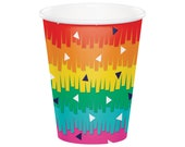 Fiesta Cups - Fiesta Party Supplies, Fiesta Decorations, Fiesta Party Cups, Fiesta Birthday, Fiesta Baby Shower, Party Favor Cups