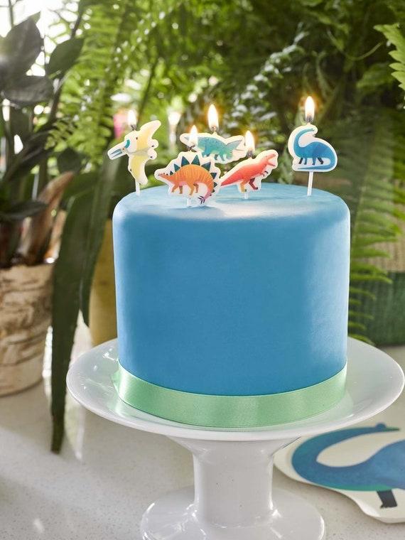 Prehistoric Party Birthday Candle Set