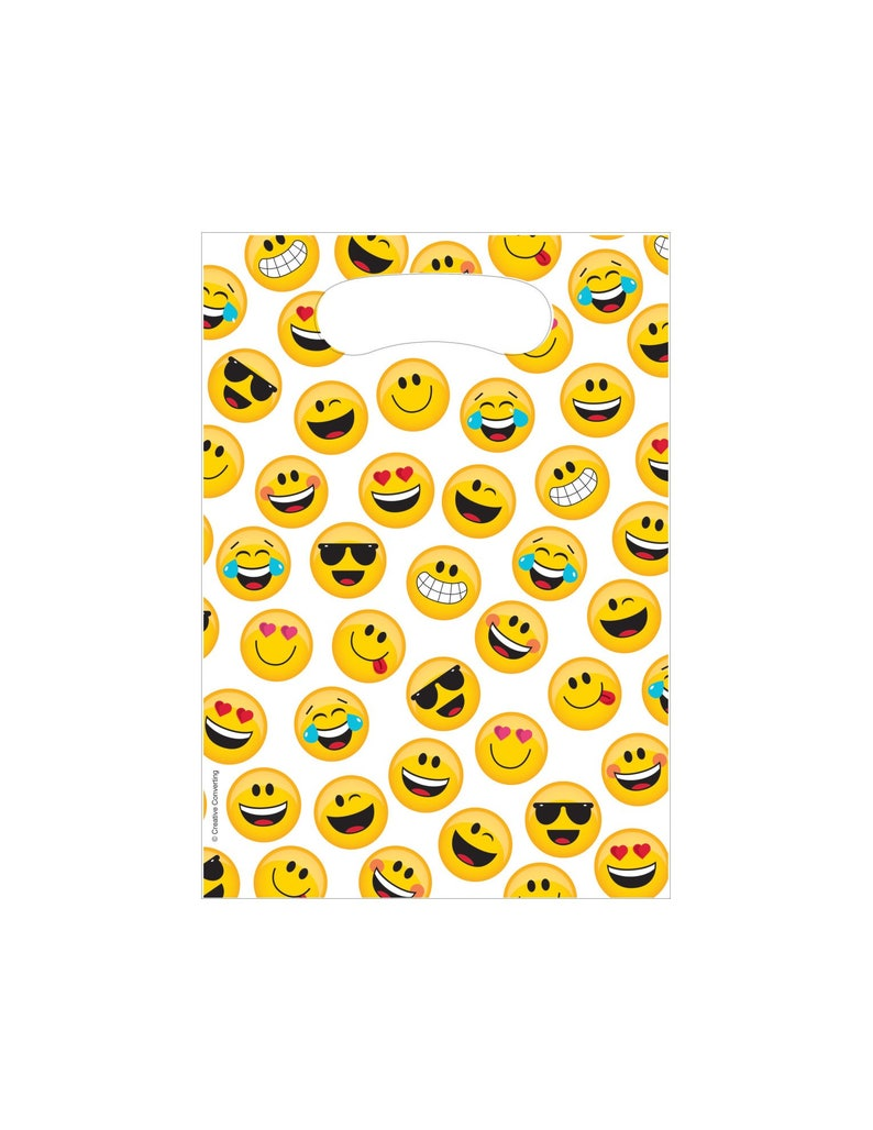 Emoji Loot Bags Party Favor Birthday