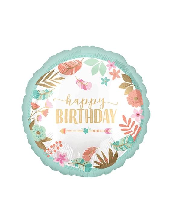 First Birthday Feather and Arrows Birthday Balloon Wild One Birthday Party Decor Wild One Party Boho Party Boho Floral Boho Birthday