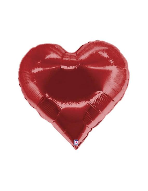 35 Red Heart Balloon