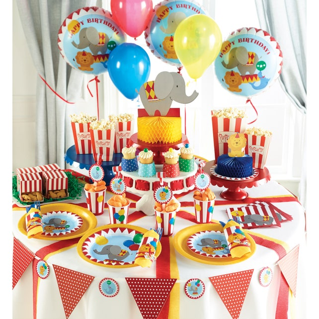 Circus Candle Circus First Birthday Candle Circus Party Etsy