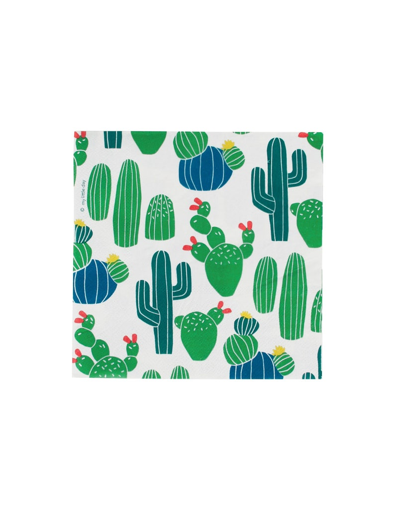 Cactus Napkins - Cactus Baby Shower, Cactus Party, Cactus Birthday  Supplies, Cactus Favors, Fiesta Party, Fiesta Birthday, Fiesta Napkins