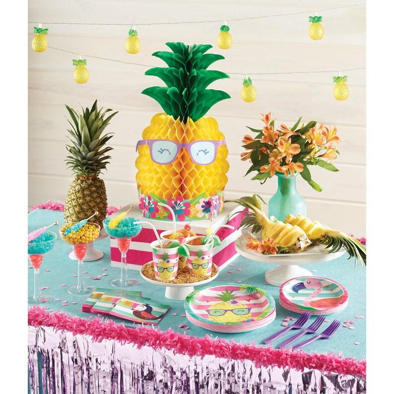 Hawaiian Decorations Hawaiian Party Luau Party Decorations Tropical Party Luau Tablecloth Luau Decorations Birthday Party Decor