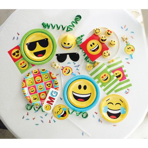 Emoji Loot Bags Party Favor Birthday