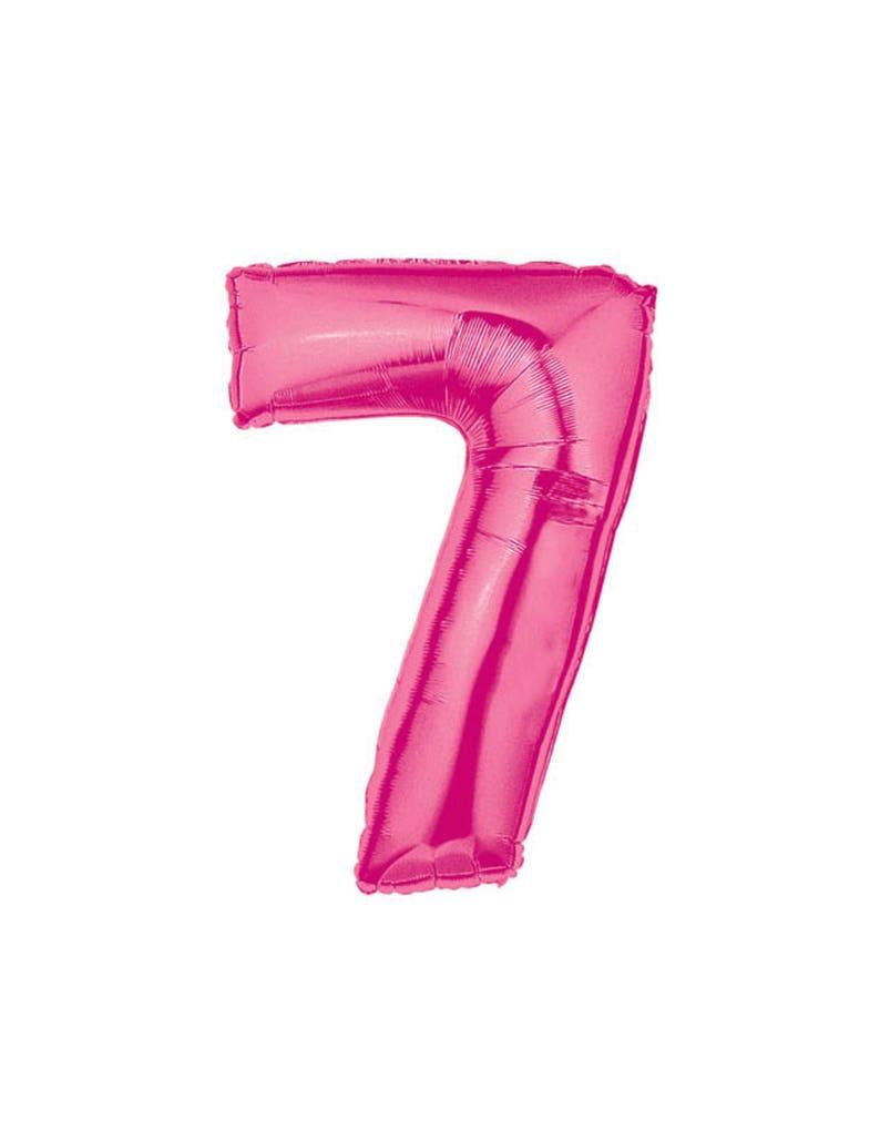 40 Number Balloons 7 Balloon 7th Birthday