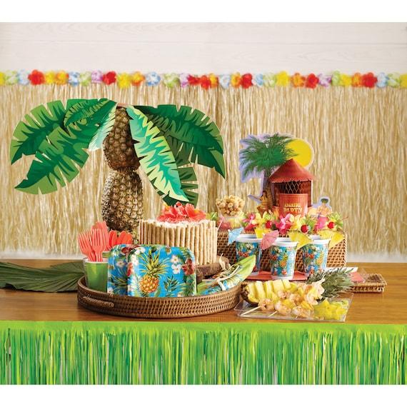 30 Tiki Balloon Luau Party Decorations Hawaiian Party Decorations Tropical Party Luau Balloons Aloha Party Decorations Hawaii Party