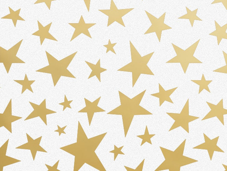 Gold Star Tissue Paper Twinkle Little First
