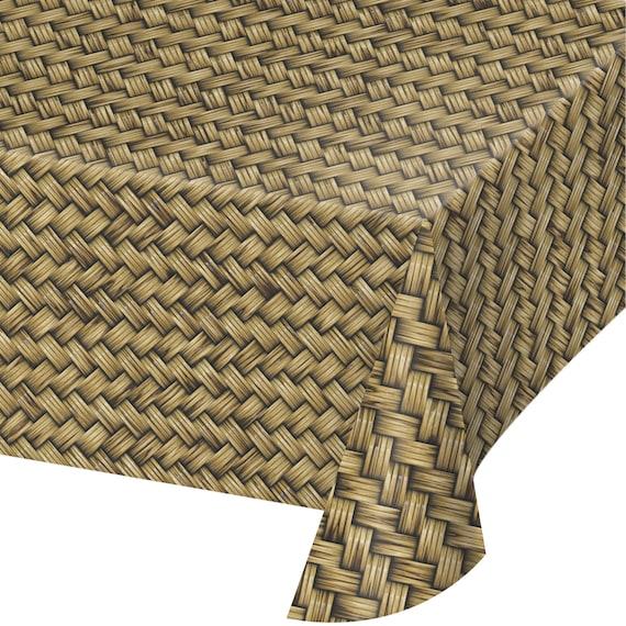 Luau Tischdecke Bambus Tischdecke Tropischen Partei Etsy