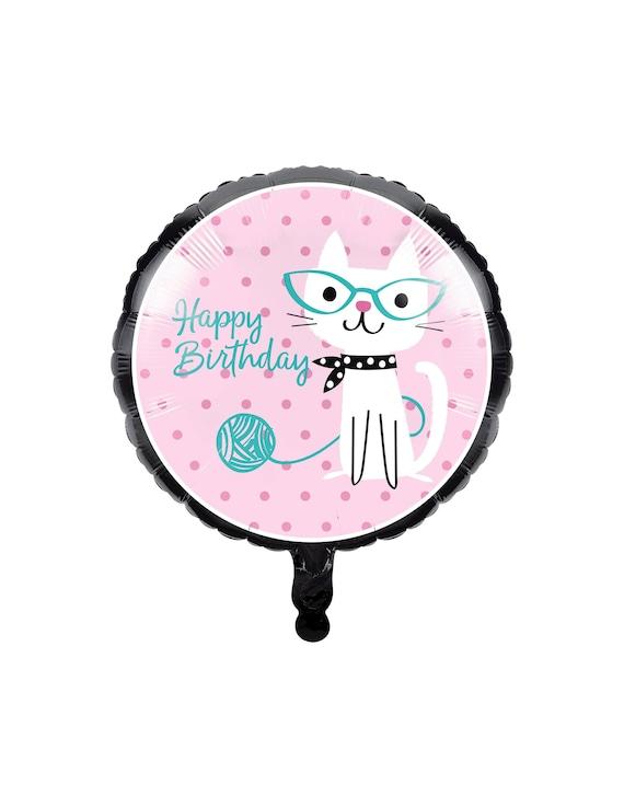 Cat Balloon Party Supplies Kitten Birthday