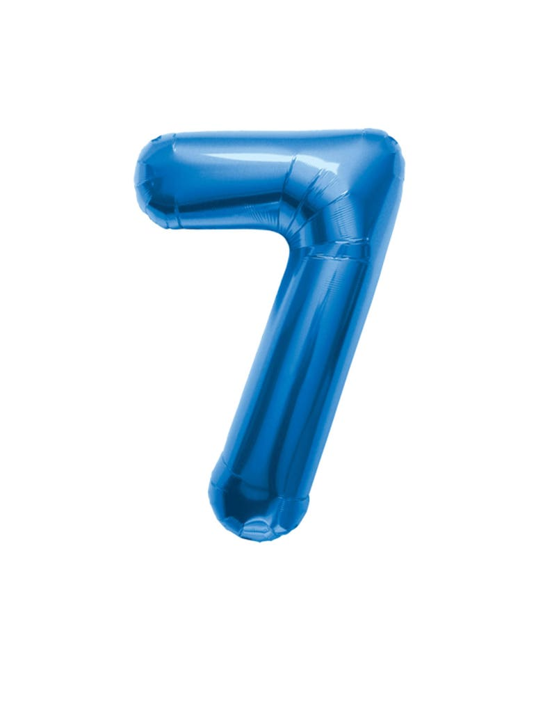 34 Number Balloons Birthday Party Photo