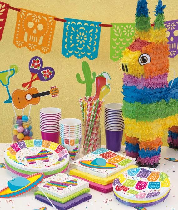 8' Tissue Garland Kit Fiesta Party Cactus Party Cinco De Mayo Mexican Fiesta Baby Shower Luau Fiesta Birthday Nacho Average