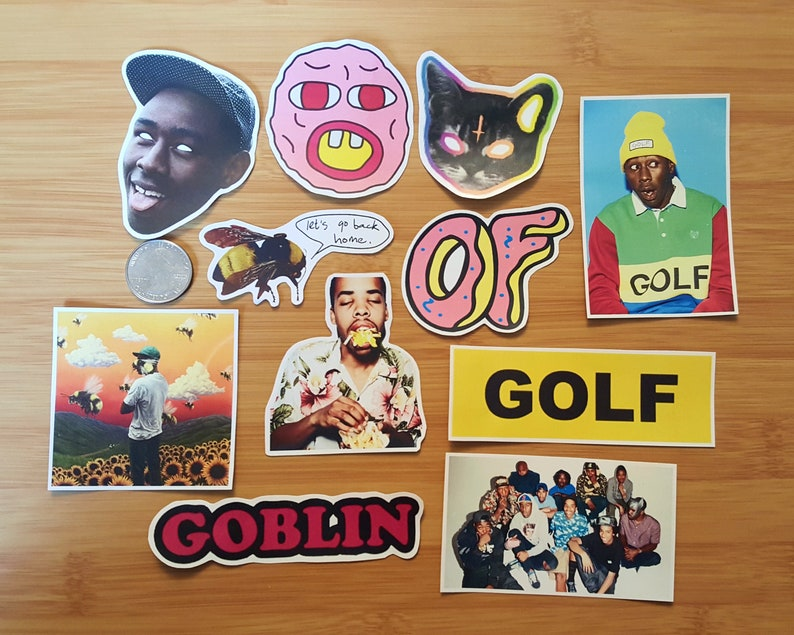 9687f6b15e13 Odd Future Sticker Pack   OFWGKTA   Golf Wang   Tyler The