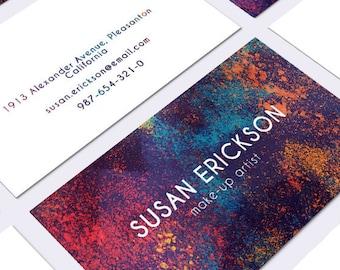 Biglietto Da Visita Moderno Design Business Card Contattare Etsy
